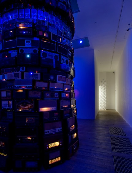 Image: Er, All your media in one place (an excuse to include a pic of Babel, by Cildo Meireles)