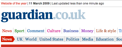 Image: Help yourself (to the Guardian's data
