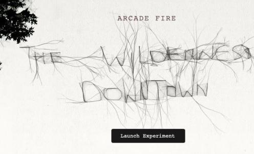 Arcade Fire interactive video – if you haven't tried this yet, do it now. Wonderful.