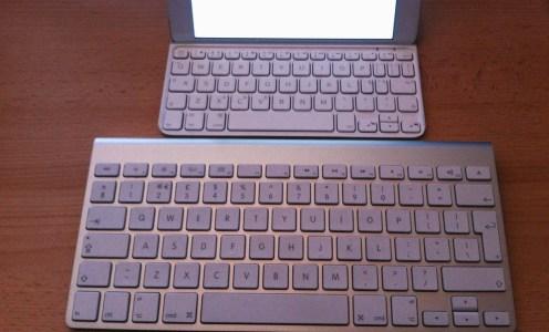 Trying out the Logitech iPad Mini keyboard