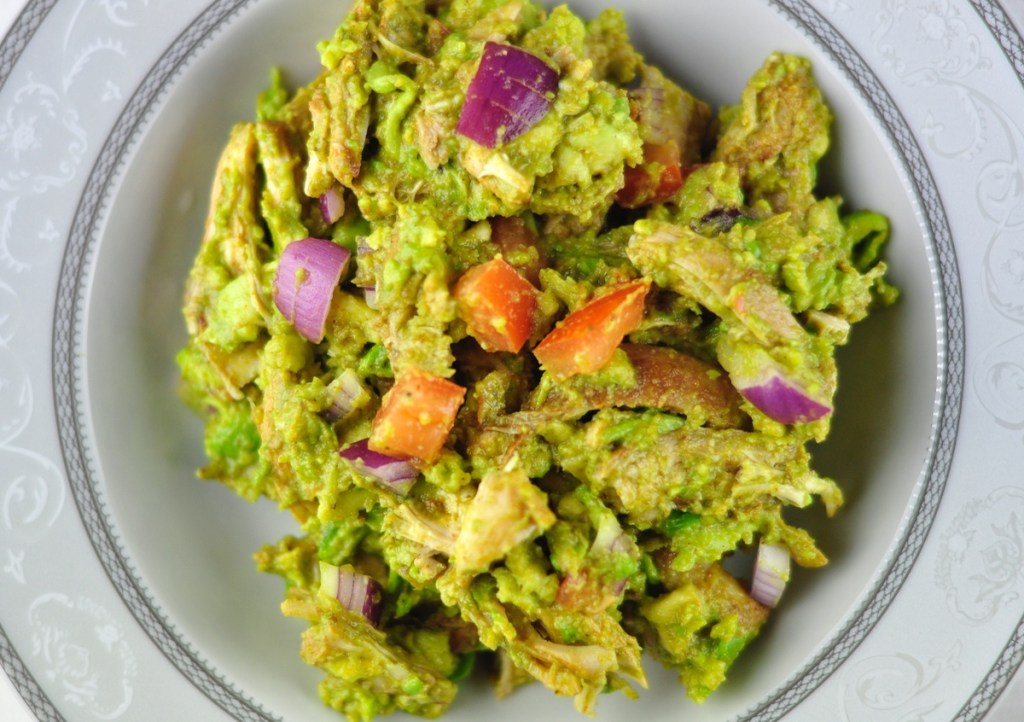 AVOCADO CHICKEN SALAD – PALEO SALAD