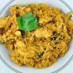 quinoa chicken pulao