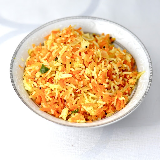 CARROT RICE FOR EASY AND QUICK DINNER
