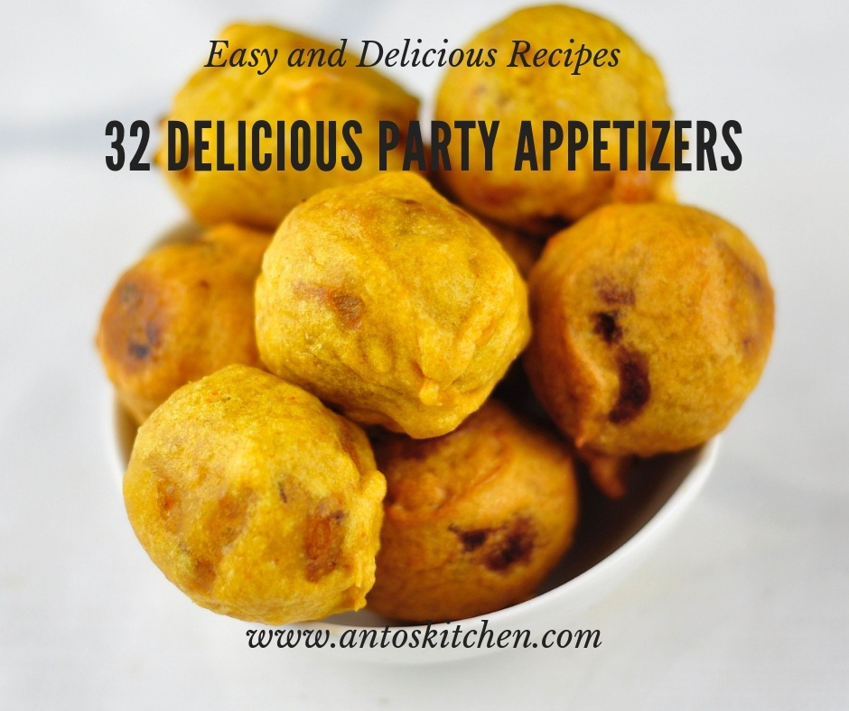 32 Delicious Party Appetizers