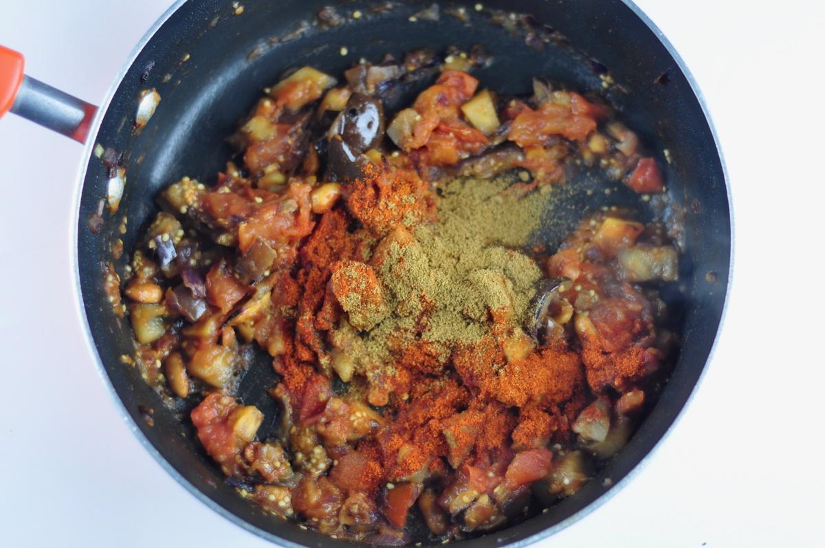 tomato eggplant chutney
