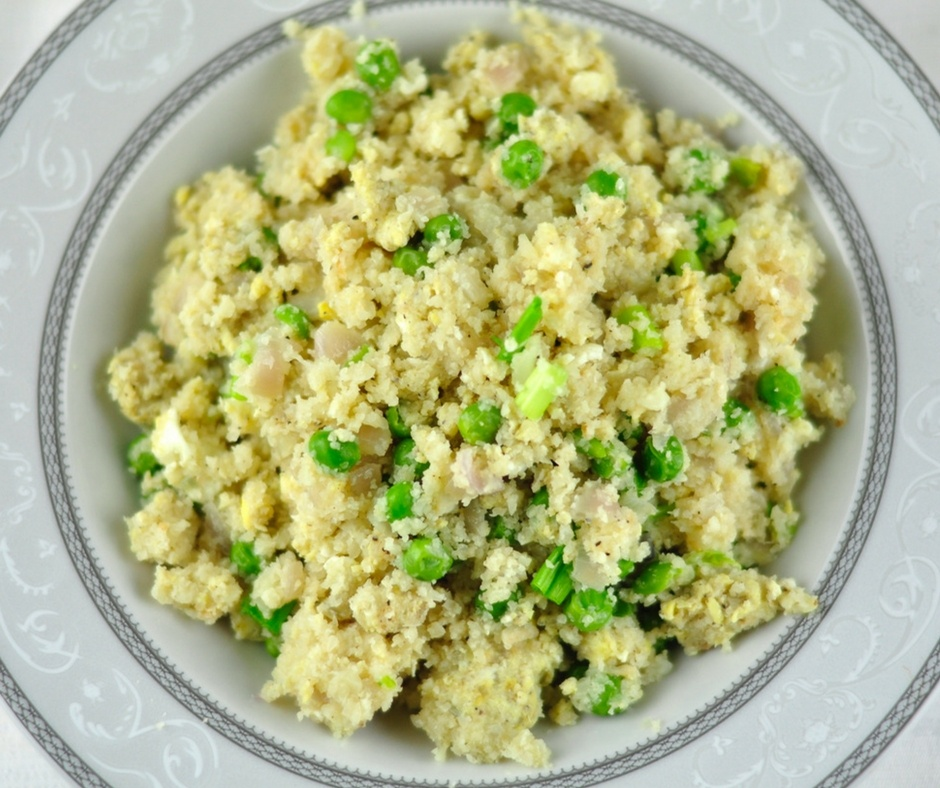 CAULIFLOWER EGG FRIED RICE – PALEO RICE