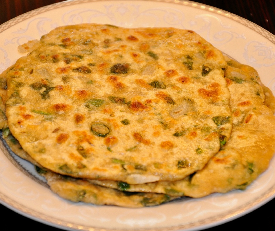 EASY AND HEALTHY SPINACH PARATHA