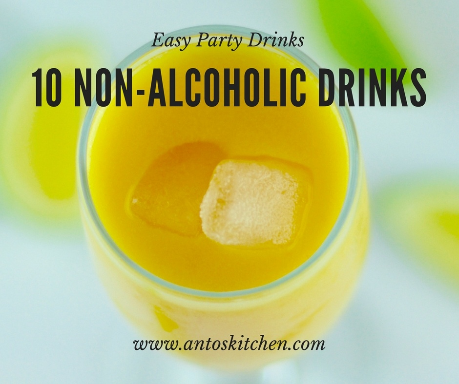10 Non-Alcoholic Party Drinks