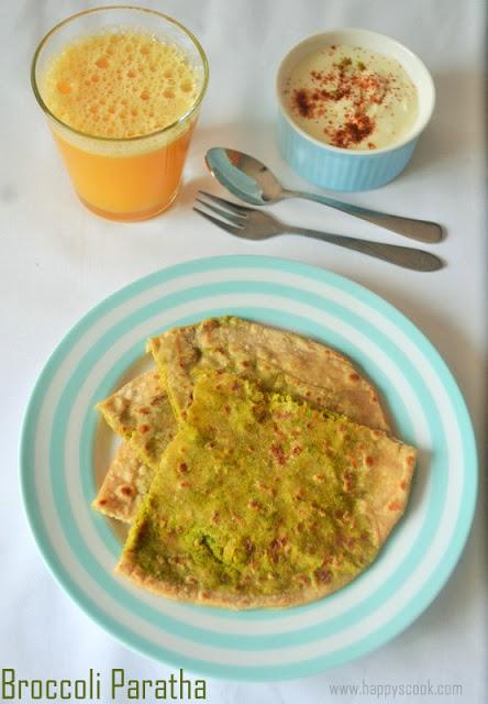 Broccoli Paratha