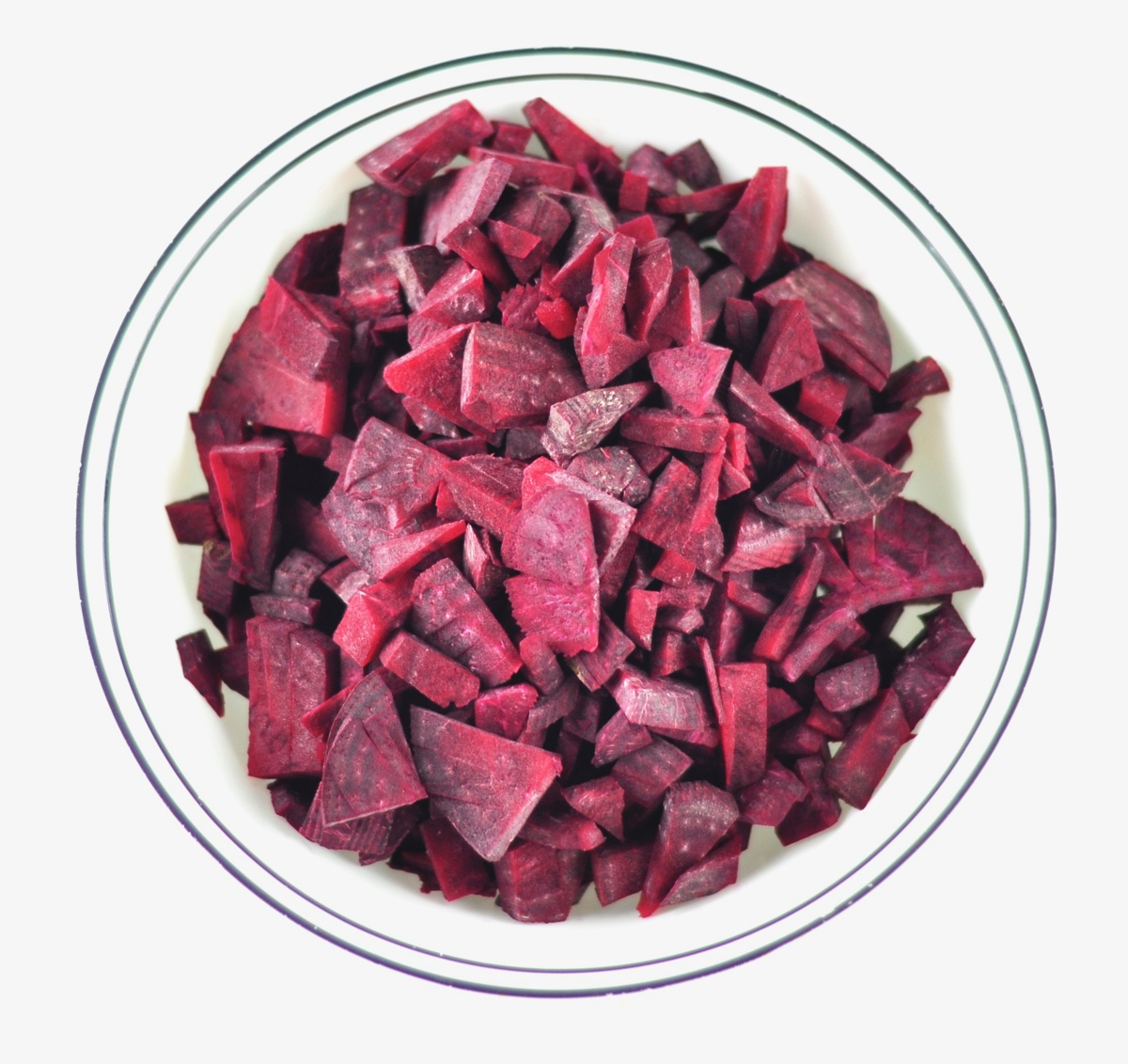 chopped beetroot