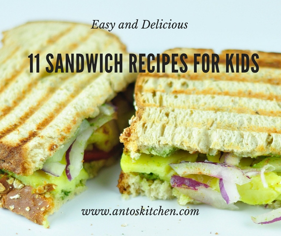 11 Sandwich Recipes for Kids