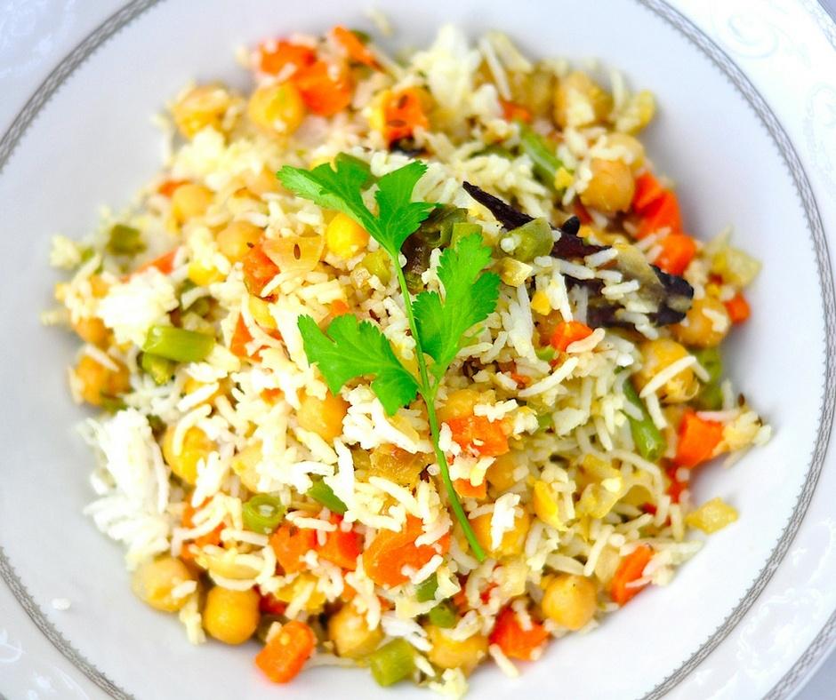 chickpea rice