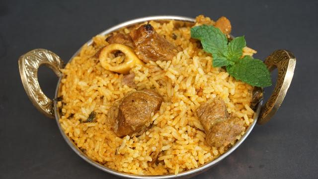 seeraga samba mutton biryani
