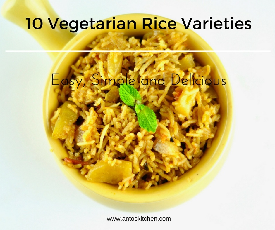 10 Vegetarian Rice Varieties