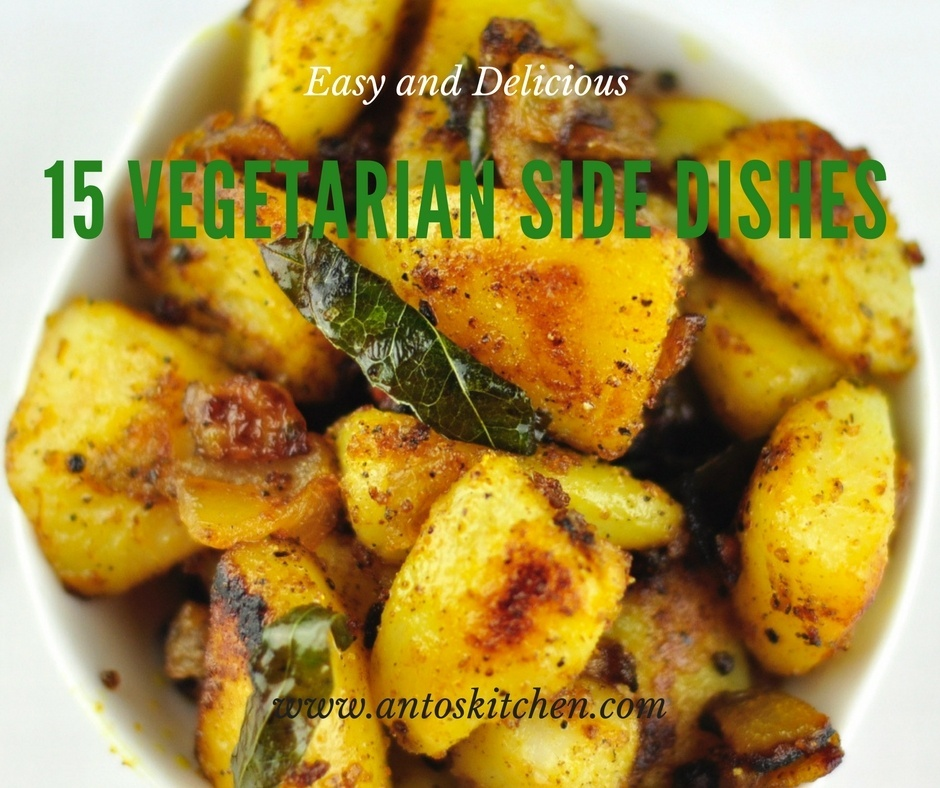 15 Vegetarian Indian Side Dishes