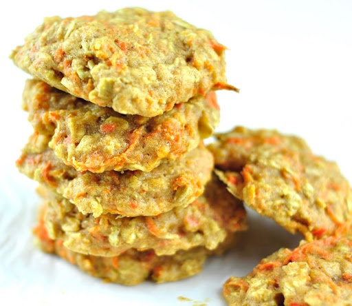 CARROT COOKIES – AN EASY COOKIE RECIPE FOR KIDS