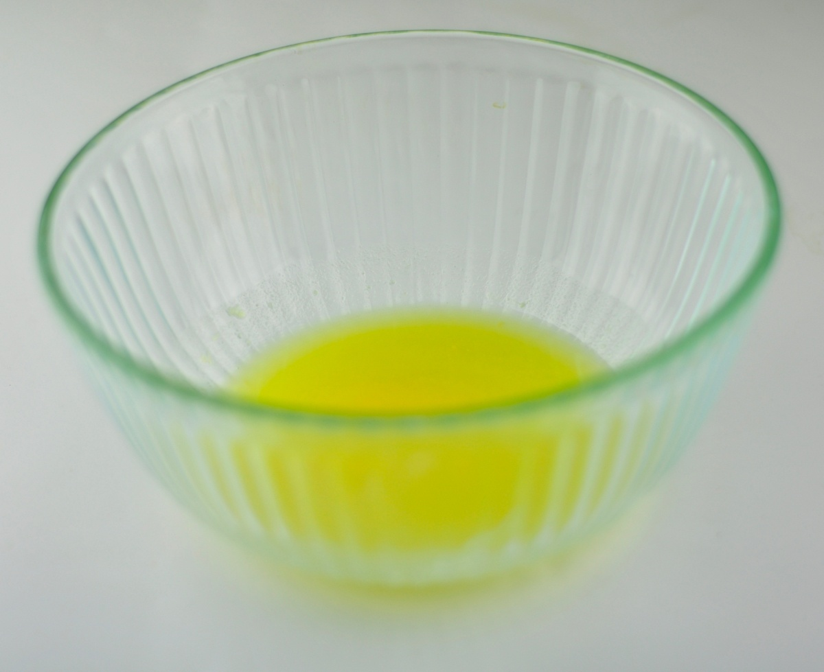 melted ghee