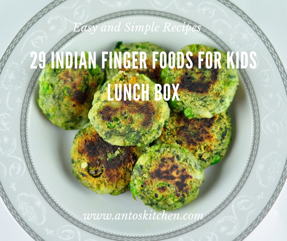 finger food for lunch box