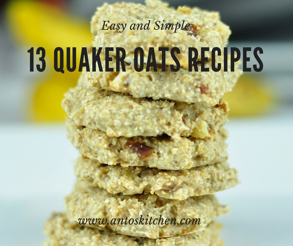 quaker oats recipes