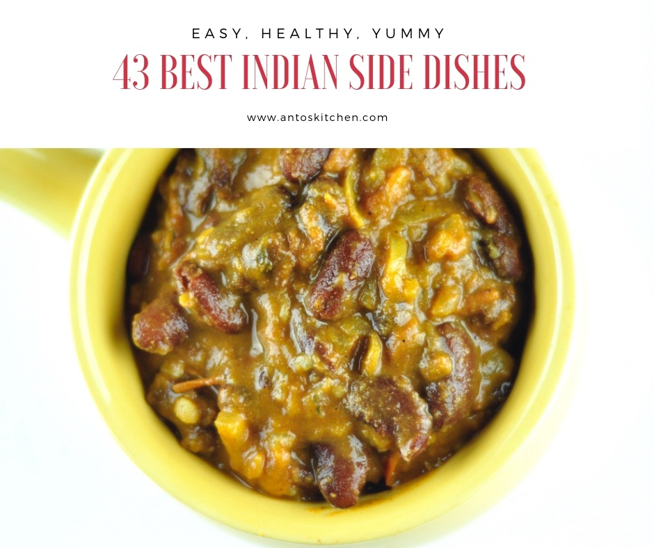 43 best indian side dishes
