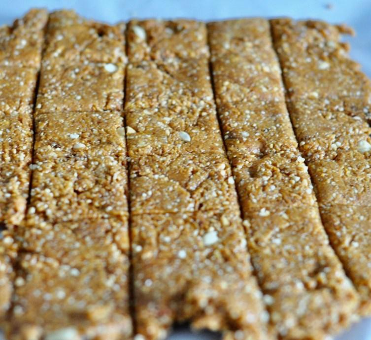 peanut chikki with sugar