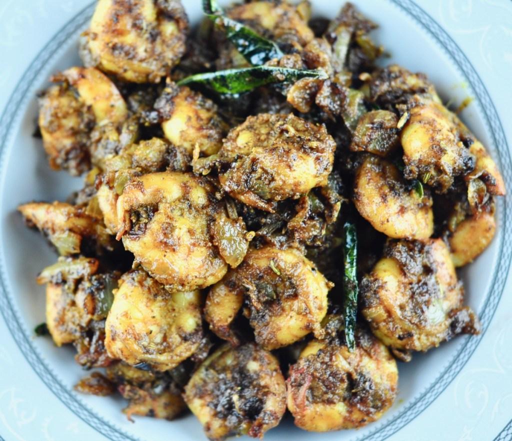 shrimp pepper stir fry