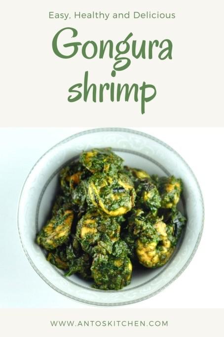 gongura shrimp
