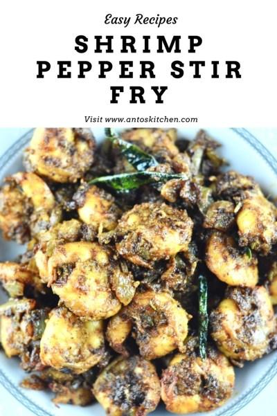 shrim pepper fry