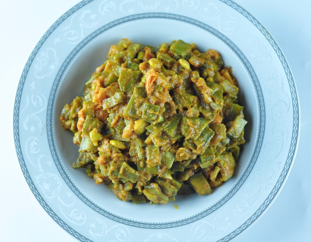 Indian broad beans recipe