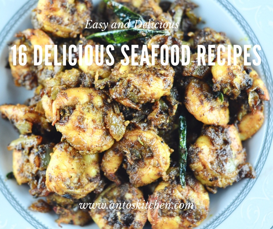 Delicious seafood recipes
