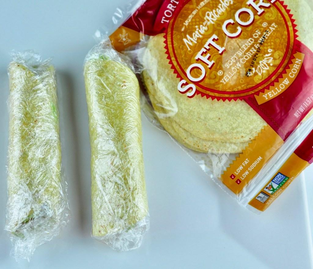 soft corn taco