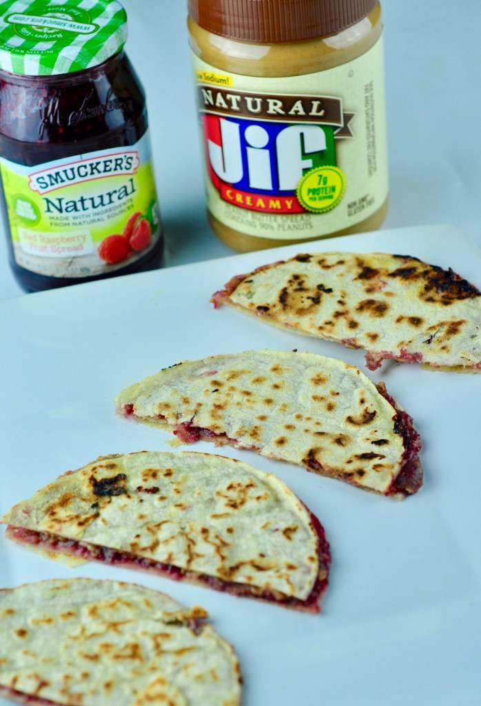 Peanut Butter and Jelly Quesadilla