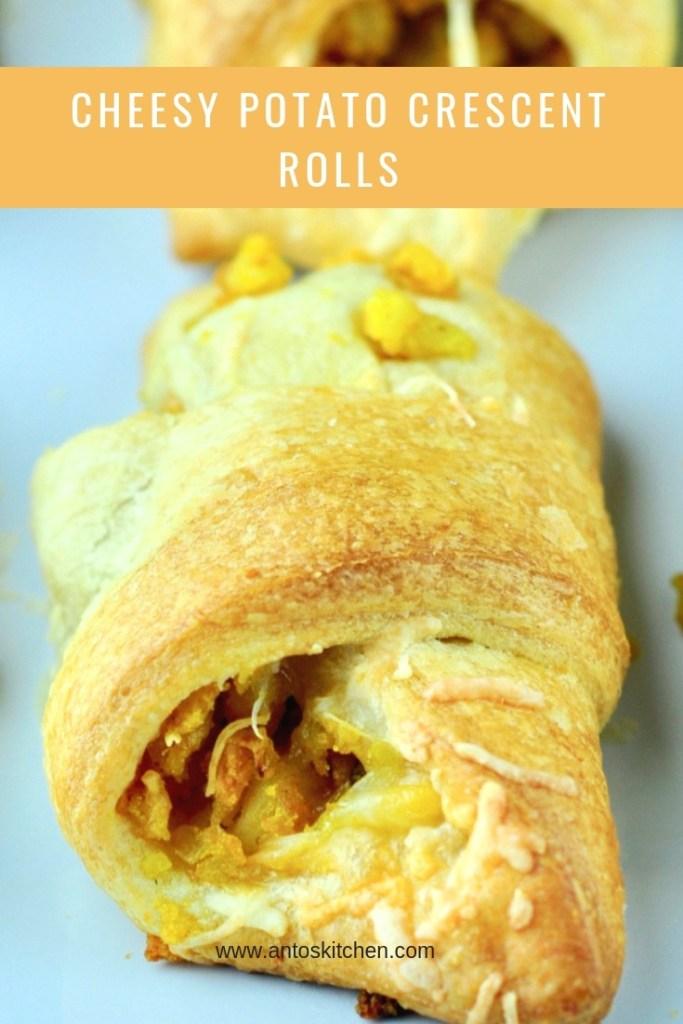 cheesy potato crescent rolls