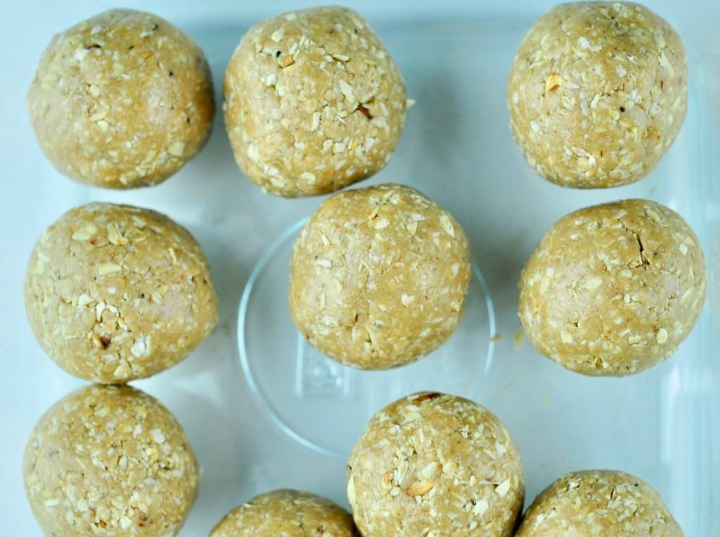 oatmeal peanut butter energy balls
