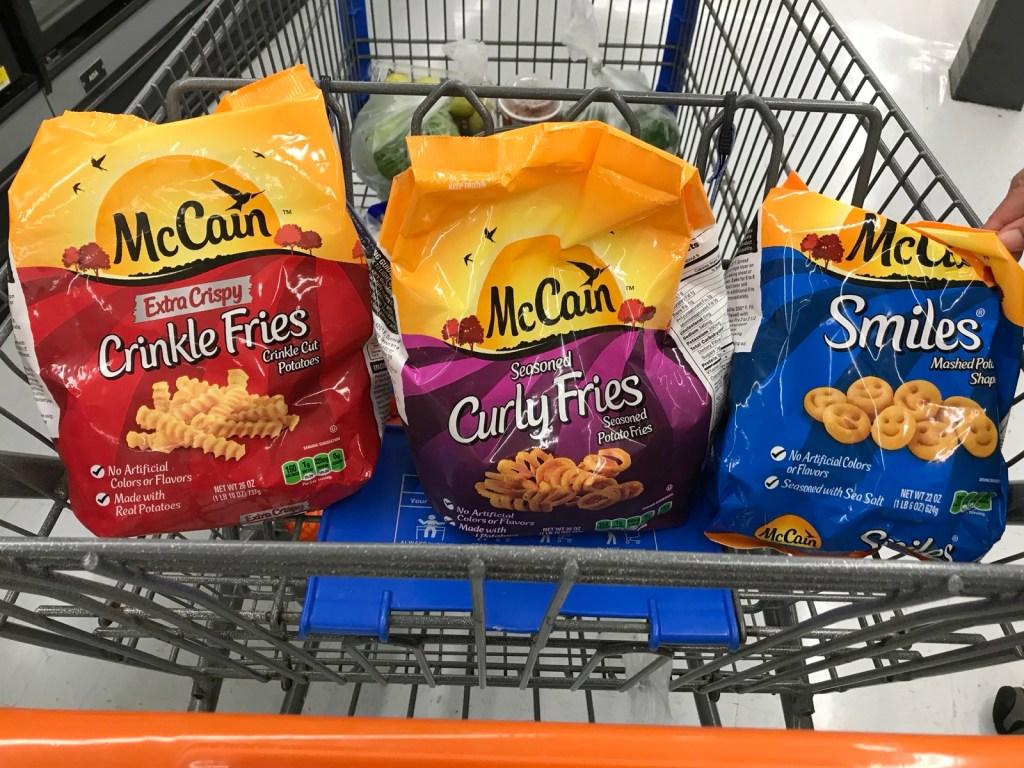 McCain Curly Seasoned Fries