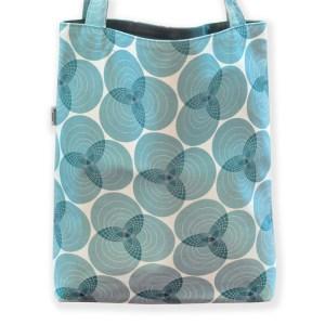 Väska ringar blå