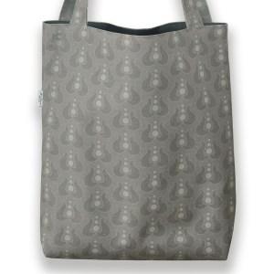 Väska Café grå