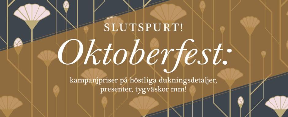 Oktoberfest hos Antré Design