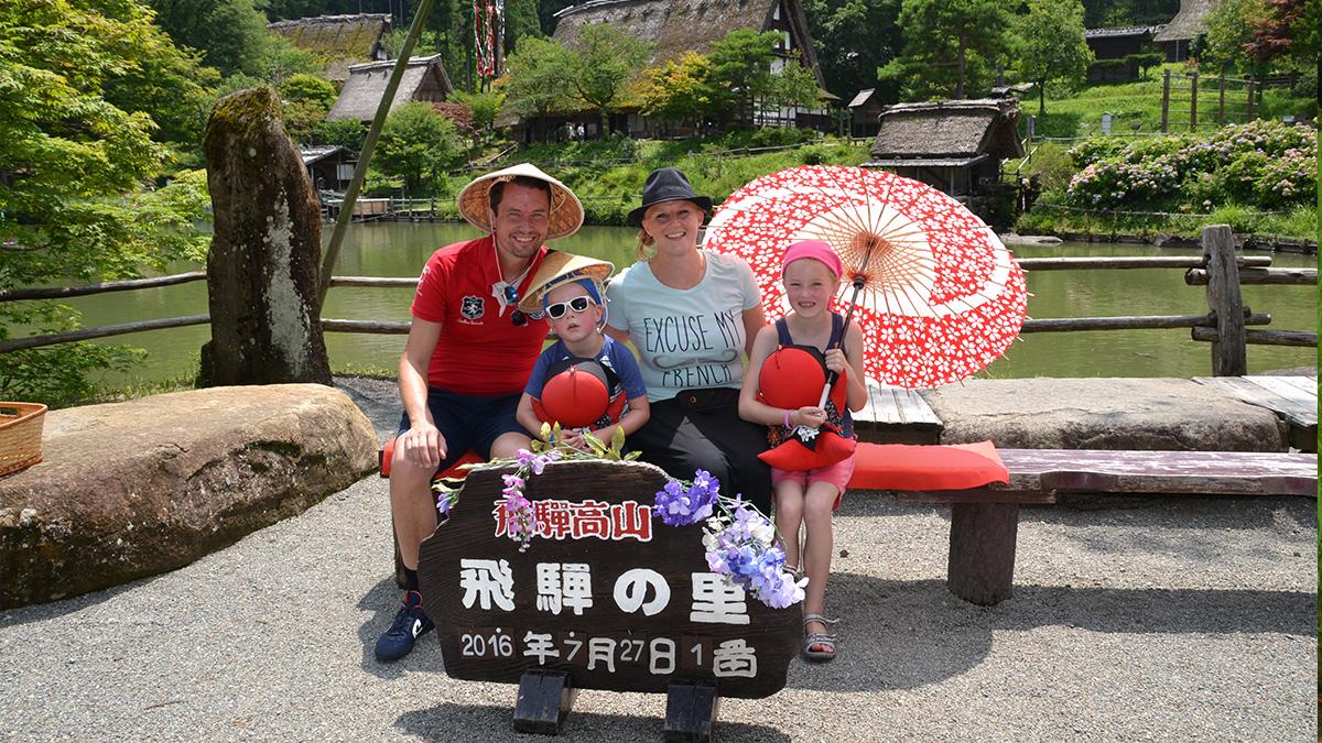 4 weken Japan met kinderen onze route