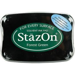 StazOn Forest Green 99-0