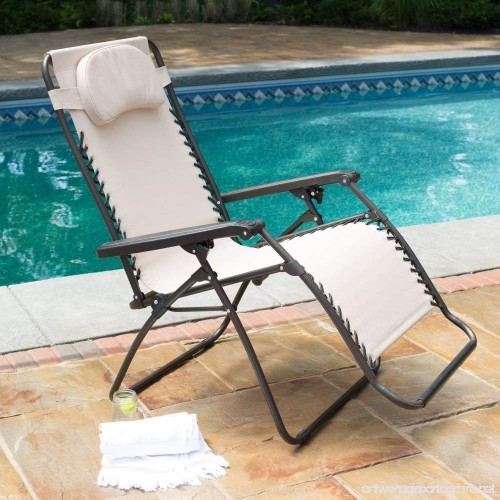 premium patio chairs zero gravity chair caravan canopy lounge outdoor folding oversized recliner toffee b00y6nsk72