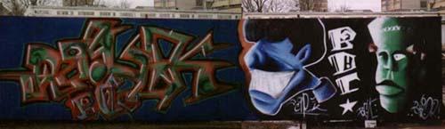 Odstranjevanje grafitov graffiti