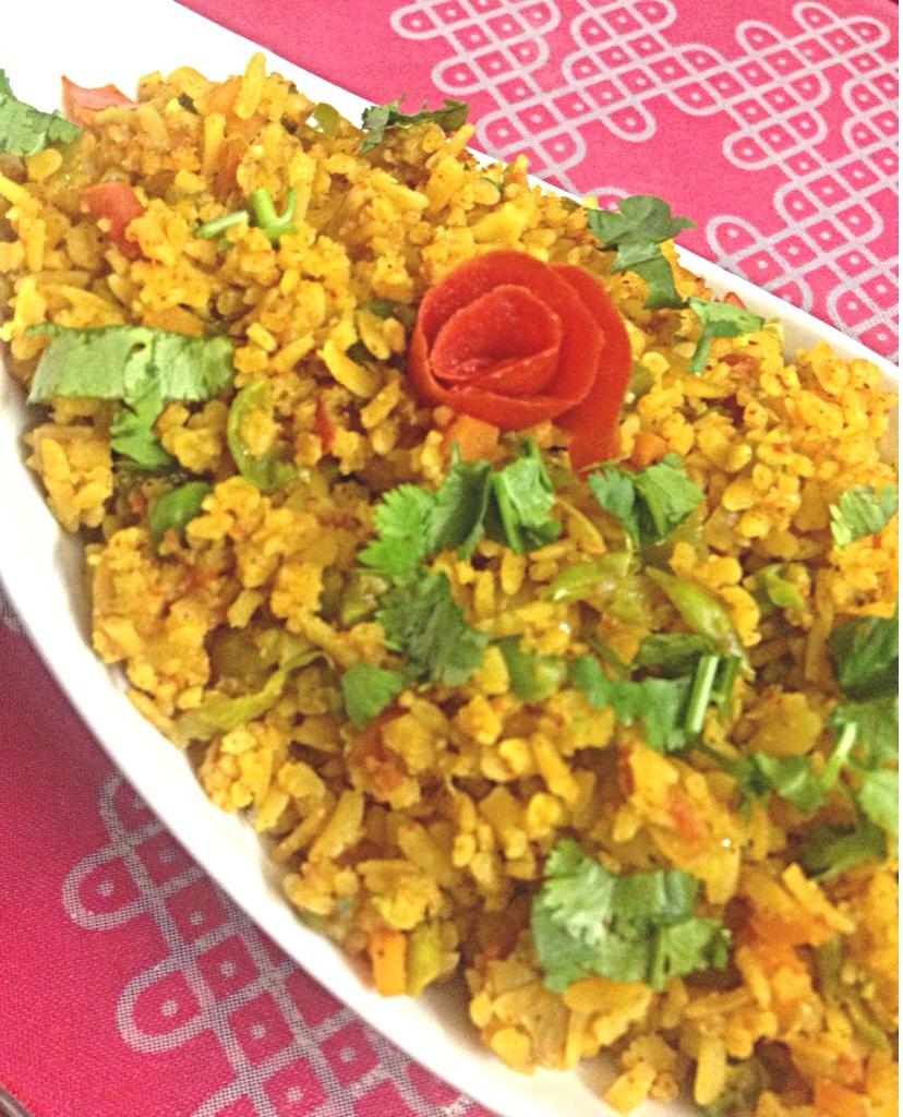 Tawa Poha( rice flakes)