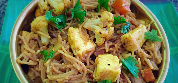 Kadai Vegetable Semiya