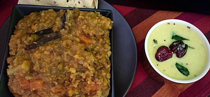 Moong and Vegetable Khichdi