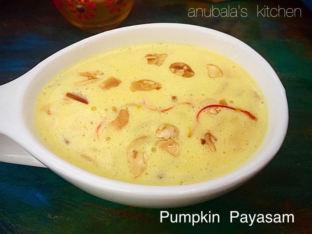 Pumpkin Payasam