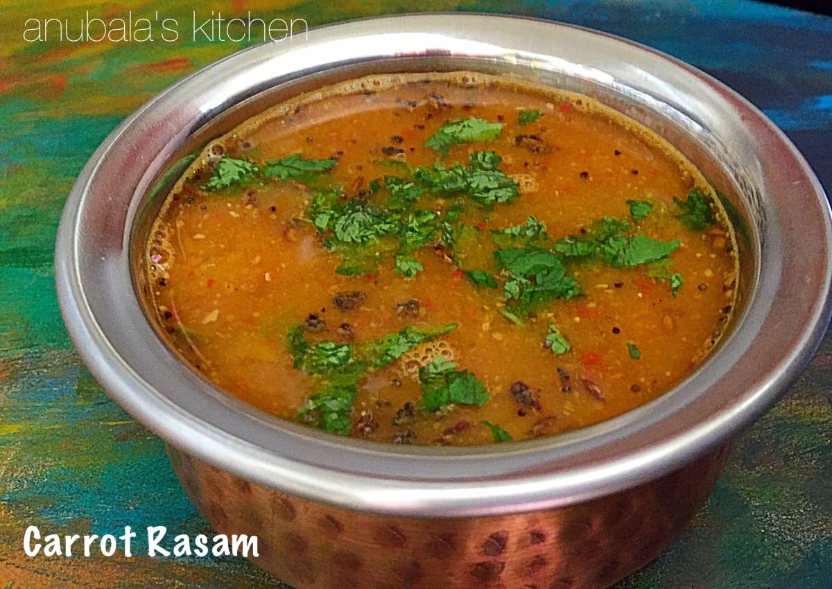 Carrot Rasam