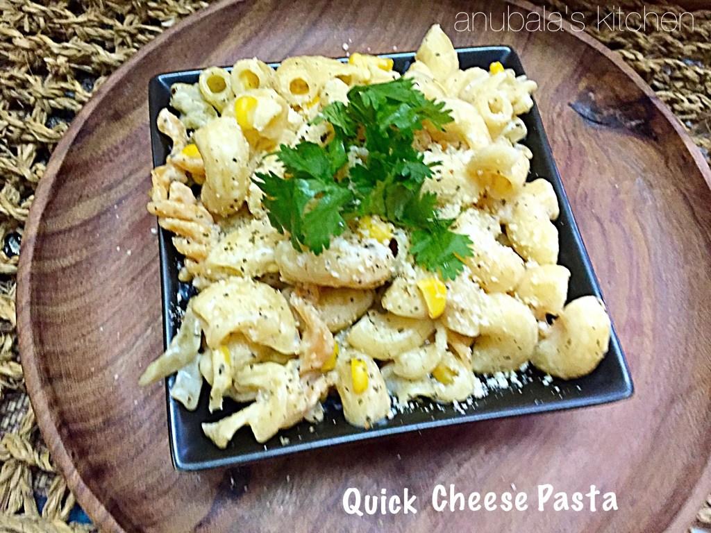 Quick Cheese Pasta