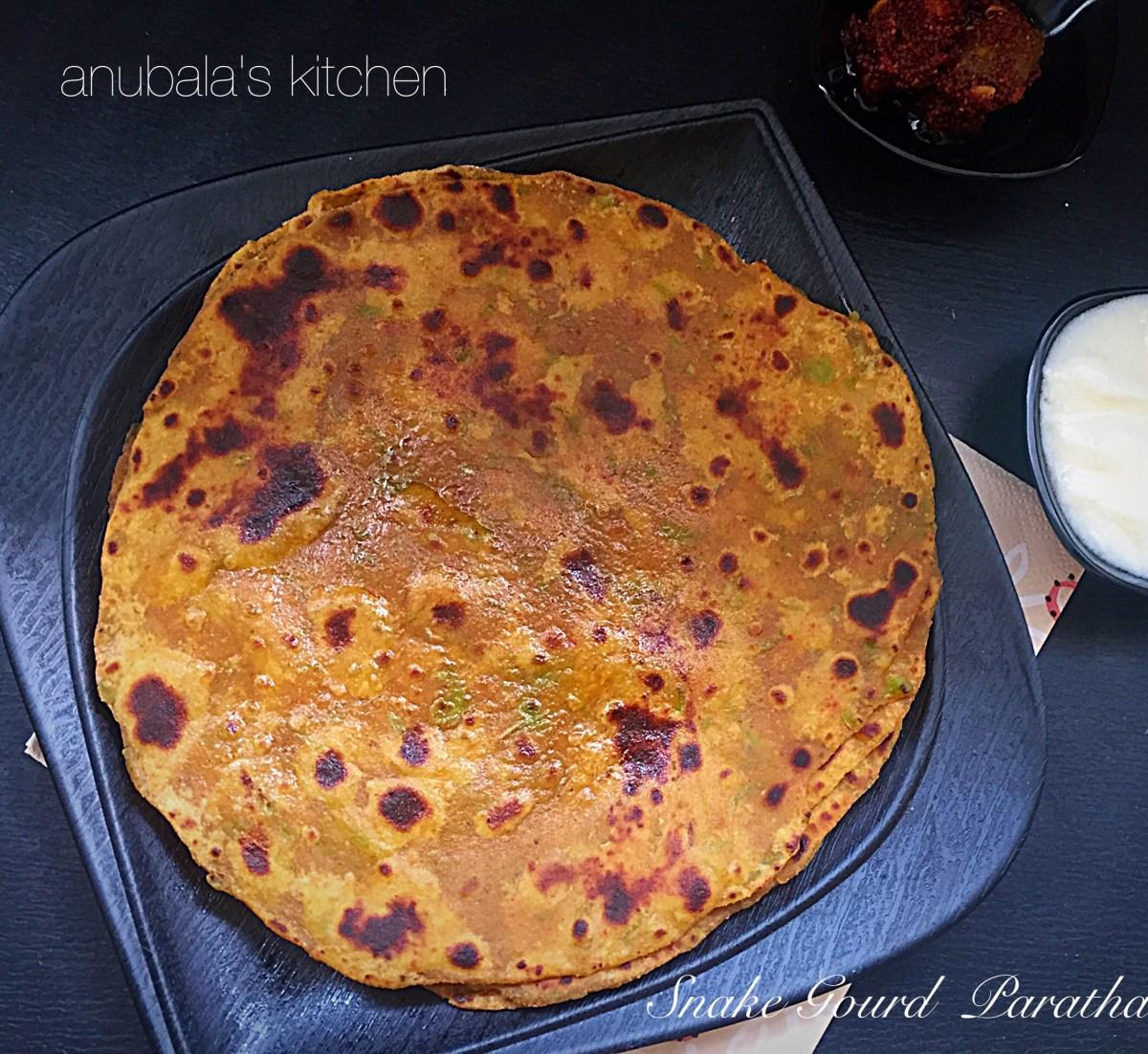 Snake Gourd Paratha