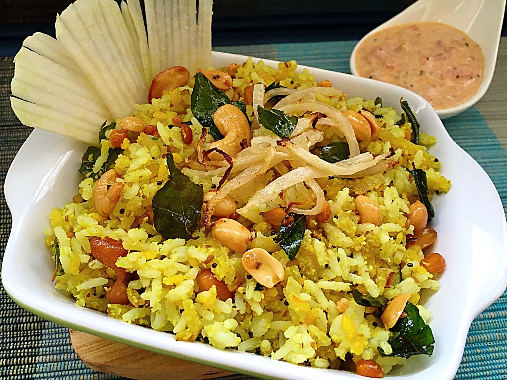 Spicy Knol Khol Rice
